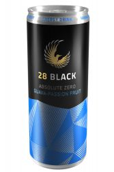 28 Black Absolute Zero Guava-Passion Fruit 0,25 Liter