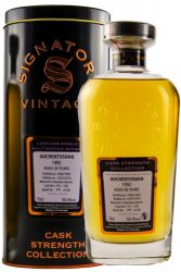 Auchentoshan 1992 Cask Strength Collection Signatory 0,7 Liter