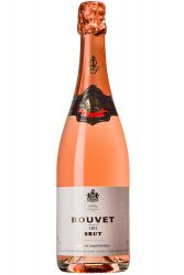 Bouvet 1851 Brut Rose Methode Traditionnelle 0,75 Liter