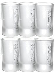 Jägermeister Frozen Club Shot Glas 2 cl 6er Set