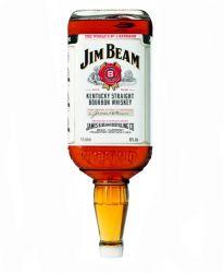 jim beam straight bourbon whiskey 4 5 liter flasche aus. Black Bedroom Furniture Sets. Home Design Ideas