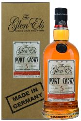 The Glen Els 5 Jahre Port Cask Gently Woodsmoked Malt Whisky 0,70 Liter