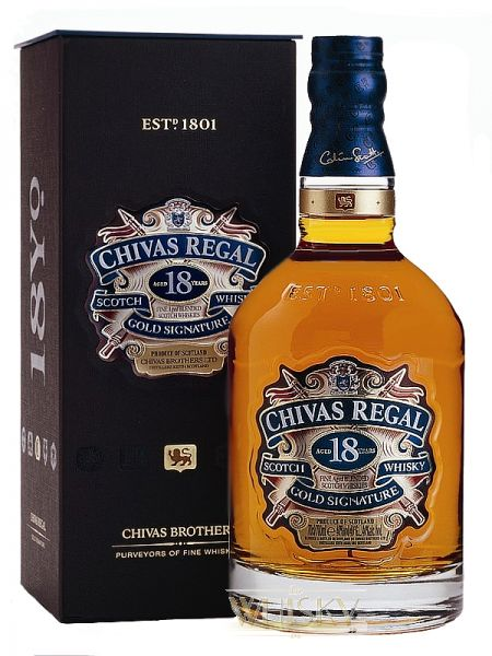 Chivas regal 18 jahre gold signature aus schottland - Chivas regal 18 1 liter price ...