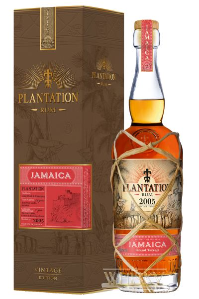 Plantation Rum Vintage 2005 Jamaica 0,7 Liter - 1aWhisky ...