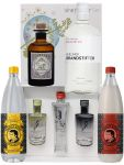 1 x Monkey Miniatur 5 cl, 1 x G-Vine Set (3x5cl) , 1 x Brandstifter 0,35 Liter  + 1 x Thomas Henry Tonic Water 1,0 Liter + 1 x Thomas Henry Spicy Ginger 1,0 Liter
