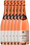 Bouvet 1851 Brut Rose Methode Traditionnelle 6 x 0,75 Liter