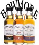 Bowmore Distillers Collection in Geschenkpackung 3 x 5 cl