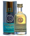 Bruichladdich 12 Jahre Single Malt Whisky Miniatur 5 cl