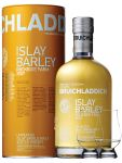 Bruichladdich 2009 Islay Barley Rockside Farm Unpeated Islay Single Malt Whisky 0,7 Liter + 2 Glencairn Gläser