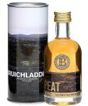 Bruichladdich Peat Single Malt Whisky Miniatur 5 cl