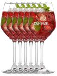 Campari Weinglas 6er Set