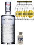 Gin-Set The Botanist Islay Dry Gin 0,7 Liter + Nordes Atlantic Gin 0,05 Liter Miniatur + 6 Goldberg Tonic Water 0,2 Liter