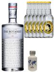 Gin-Set The Botanist Islay Dry Gin 0,7 Liter + Nordes Atlantic Gin 0,05 Liter Miniatur + 6 Thomas Henry Tonic Water 0,2 Liter