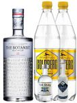 Gin-Set The Botanist Islay Dry Gin 0,7 Liter The Duke München Dry Gin 5 cl + Citadelle Gin aus Frankreich 5 cl + 2 x Goldberg Tonic Water 1,0 Liter
