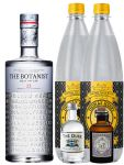 Gin-Set The Botanist Islay Dry Gin 0,7 Liter + The Duke München Dry Gin 5 cl + Monkey 47 Schwarzwald Dry Gin 5 cl MINIATUR + 2 x Thomas Henry Tonic Water 1,0 Liter