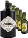 Hendricks Gin Small Batch 0,7 Liter + 6 Fentimans Tonic Water 0,2 Liter