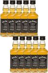 Jack Daniels Black Label No. 7 10 x 5 cl Miniaturen in GP
