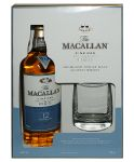 Macallan 12 Jahre Fine Oak in GP plus Tumbler Single Malt Whisky 0,7 Liter