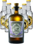 Monkey 47 Dry Gin & 6 x 0,2 Liter Thomas Henry Tonic Water