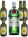 Tanqueray London Dry Gin 0,7 Liter + 5 x Fentimans Tonic Water 0,2 Liter