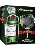 Tanqueray London Dry Gin mit Copa Glas 0,7 Liter