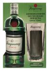 Tanqueray London Dry Gin mit Longdrinkglas 0,7 Liter