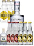 The Botanist Gin 0,7 Liter + The Duke Gin Miniatur 5 cl + 3 x Thomas Henry Tonic 0,2 Liter + 3 x Thomas Henry Spicy Ginger 0,2 Liter + 3 x Goldberg Tonic 0,2 Liter