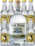 Thomas Henry Tonic Water 10 x 0,2 Liter + 1 x The Duke Bio Gin 0,7 Liter